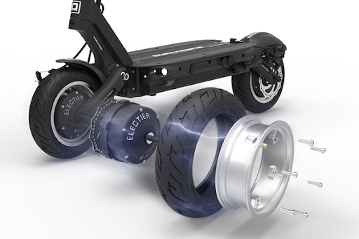 Dualtron Storm - Best electric scooter for climbing hills