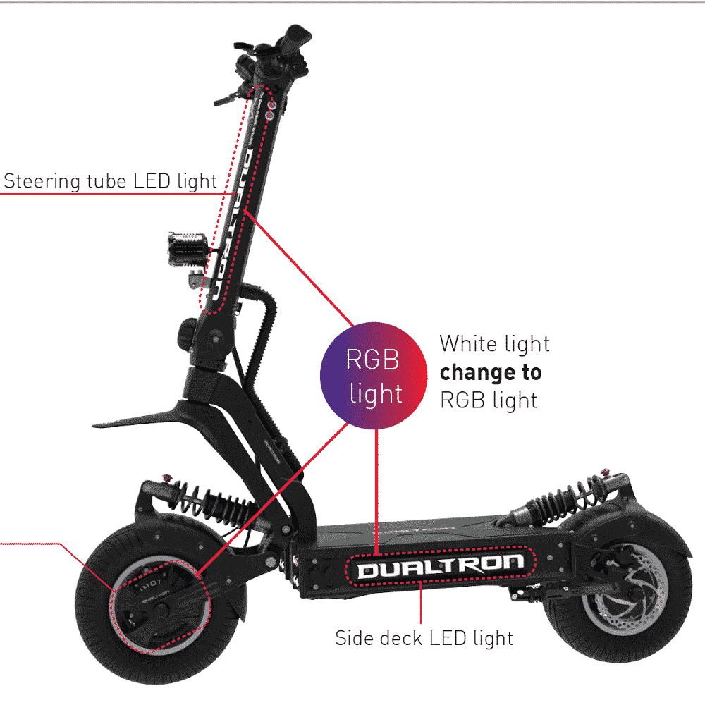 Off Road Electric Scooter for Adults - DUALTRON X ELECTRIC SCOOTER