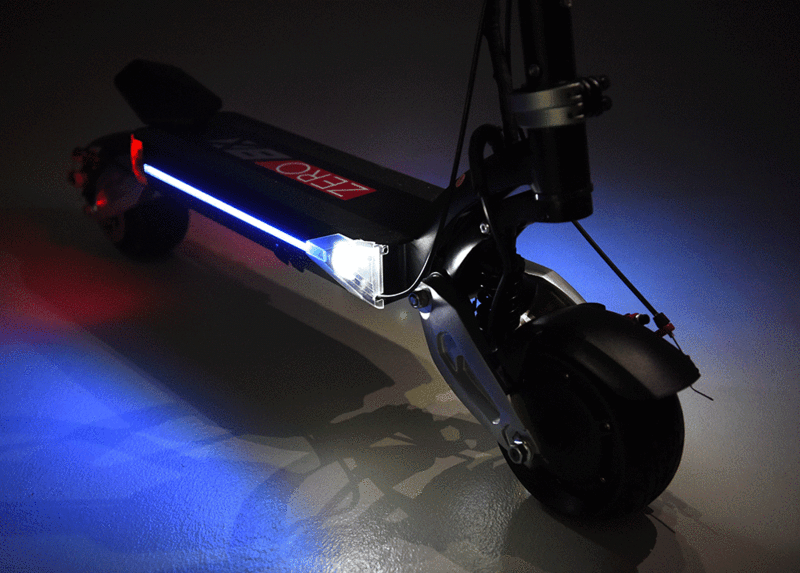 The ZERO 8X Electric Scooter for Long Commutes