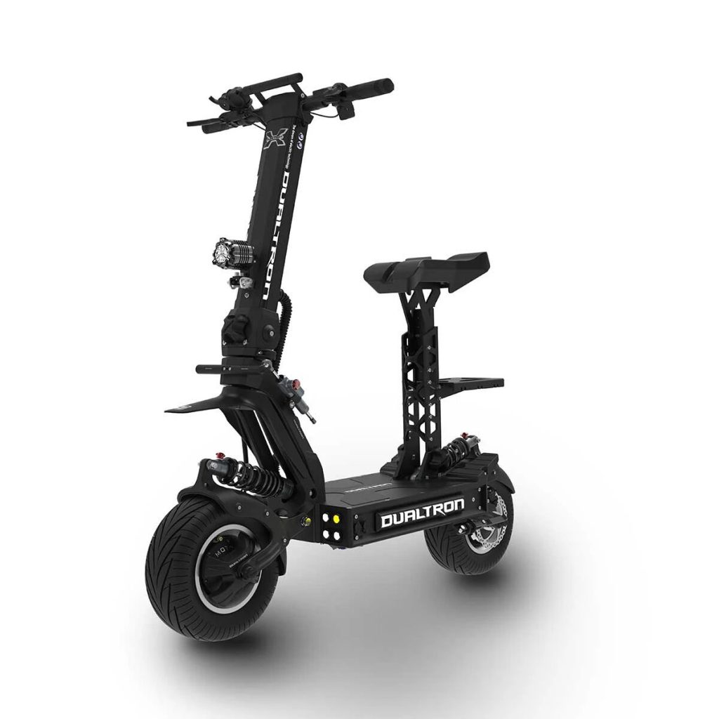 how fast can an electric scooter go - Dualtron X electric scooter