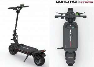 fast electric scooters for heavy riders - Dualtron Storm